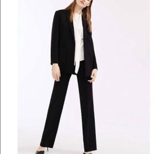MaxMara Virgin Wool Side Buttoned Dress Trousers 8